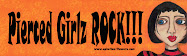 Pierced girlz bumper sticker