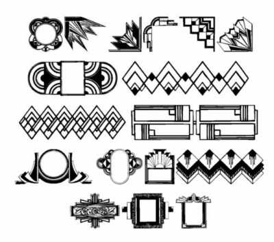 graphics 123 deco design style