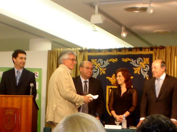 FELIPE LAMADRID PREMIO DE ARTES PLÁSTICAS DE ESCULTURA VILLA DE ROTA 2008