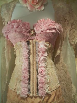 pink corset dress  tumblr