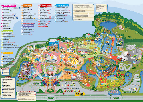 Mapa Beto Carrero World
