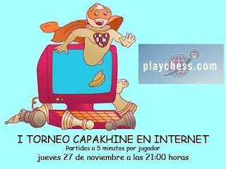 Torneo Capakhine por Internet