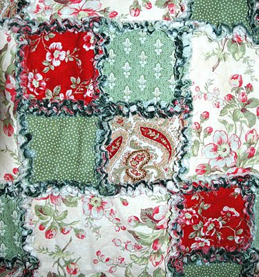 Kids Get Crafty: Rag Quilt Pattern - Free Rag Quilt Pattern - Learn How to Make a Rag Quilt