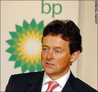 Bye Bye Mr. Hayward-Chief executive of BP