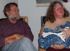 Tom and Linda B (Irene's preschool teacher)