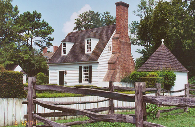 Colonial or craftsman the basics of american home style for Homes in colonial america