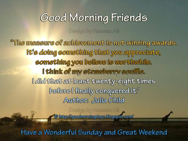 Good Morning Sunday Inspirational Quotes : Self improving inspiring quotes good morning thoughts for
