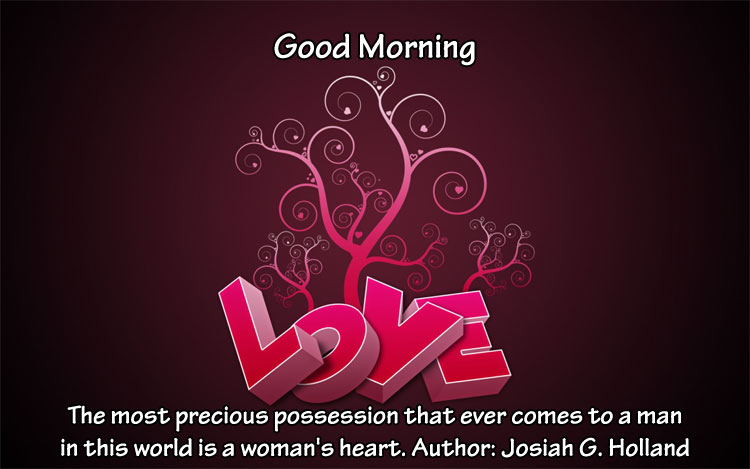 Morning Love Quotes : Quotes About Love: Good Morning Love Quotes