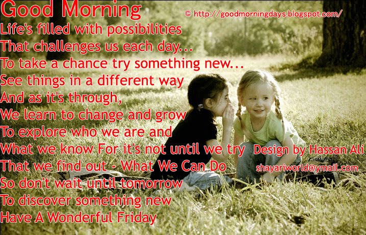 Good morning days good morning friday 8 inspiring beautiful quotes good morning friday 8 inspiring beautiful quotes for the day voltagebd Images