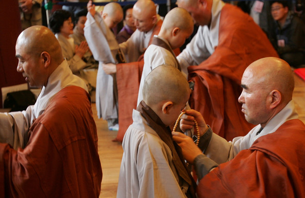 Buddhist Celebrities: Korean Little Monks