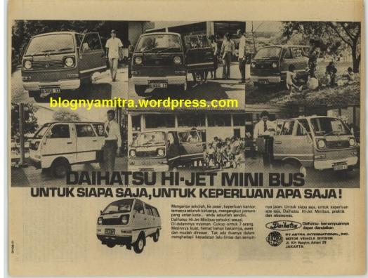 Iklan Jadul Mobil Daihatsu