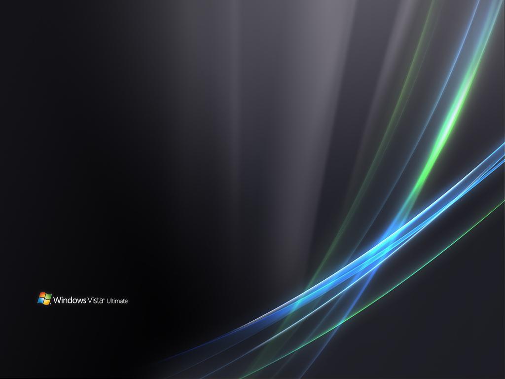 Windows Vista Ultimate Dark Wallpaper