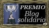 PREMIO BLOG SOLIDARIO.