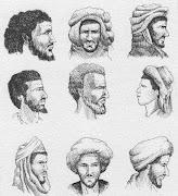Tipos de saharauis.