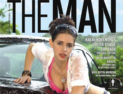 Kalki Koechlin poses for The Man