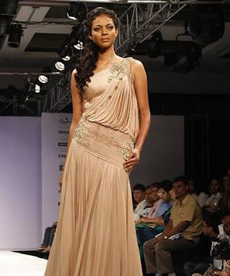 Nayanika Chatterjee walks on ramp