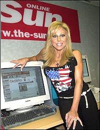 Terri in The Sun's office