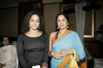 Masaba Gupta with her mom Neena at Shoppers Stop Chrysalis 2009