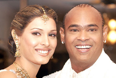 When Andrea Hewitt married Vinod Kambli