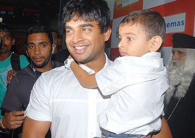 Madhavan family goes to watch Harry Potter movie