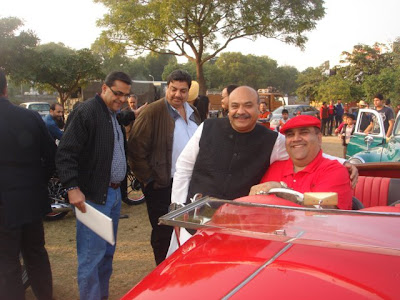Sudhanshu Mittal Ji with Vikrant Bhandula, Atul Anand and Ajai Kapur.