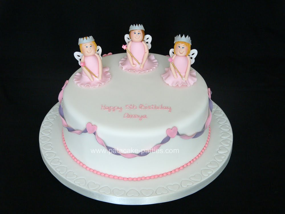 Fairy Princess Cake Images : Pat-a-Cake Parties: Fairy Princess Cake