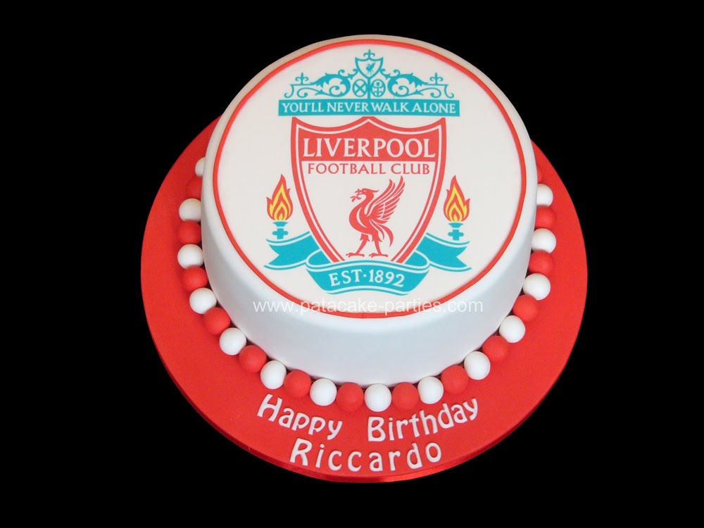 Cake Decorating Course Merseyside : Liverpool Fc Cake Creative Cake Decorating Party ...