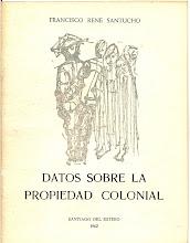 PUBLICACIONES DE FRANCISCO RENÉ SANTUCHO