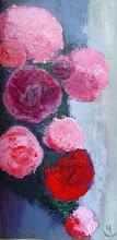 Cascade de roses
