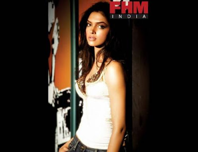 Deepika Padukone the hottest FHM woman