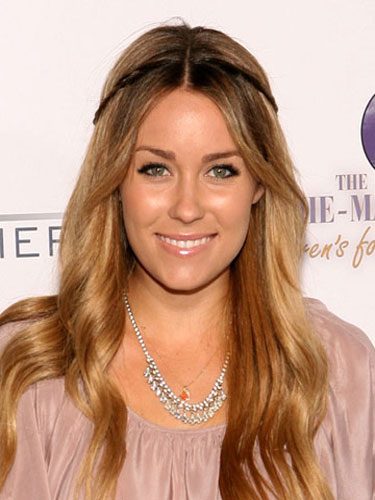 lauren conrad with brown hair. lauren conrad dark rown hair.