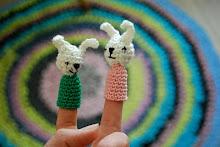 DIY - hæklede fingerdukker
