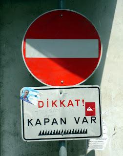 Dirección prohibida