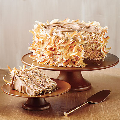 Quick Italian Cream Cake Recipe Southern Living