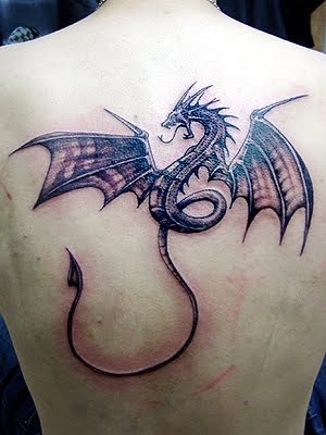 Dragon Tattoo Designs. July 24th, 2009. Small Dragon Tattoos On Back Men