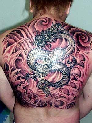free dragon tattoo special designs for men and women,this dradon tattoo