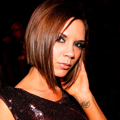victoria beckham tattoo on neck. victoria beckham tattoo simple