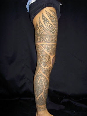maori tattoos designs for feet