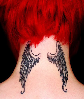 girls with wings tattoos