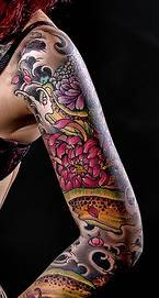 sleeve tattoo design for women