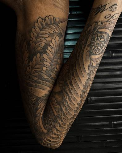 sleeve tattoo drawings. best sleeve tattoo designs for