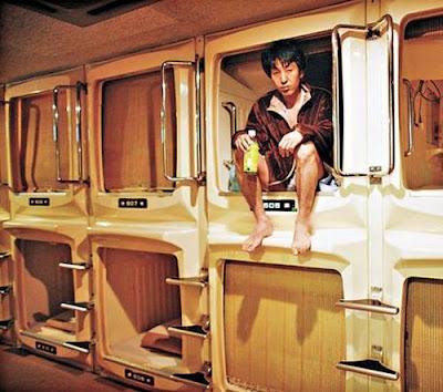 日本 棺材酒店
