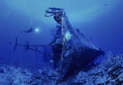 世界11大海底墳墓(七) 沉船殘骸