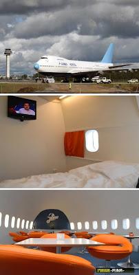 十大瘋狂酒店 - 飛機酒店