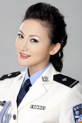 中國正妹警花 妹妹