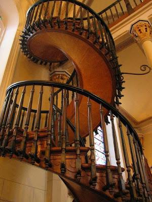 墨西哥魔梯 Miracle Stairs - 拉瑞多教堂的墨西哥魔梯(Miracle Stairs)
