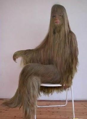 體毛最長 少女 - 世界上體毛最長的少女
