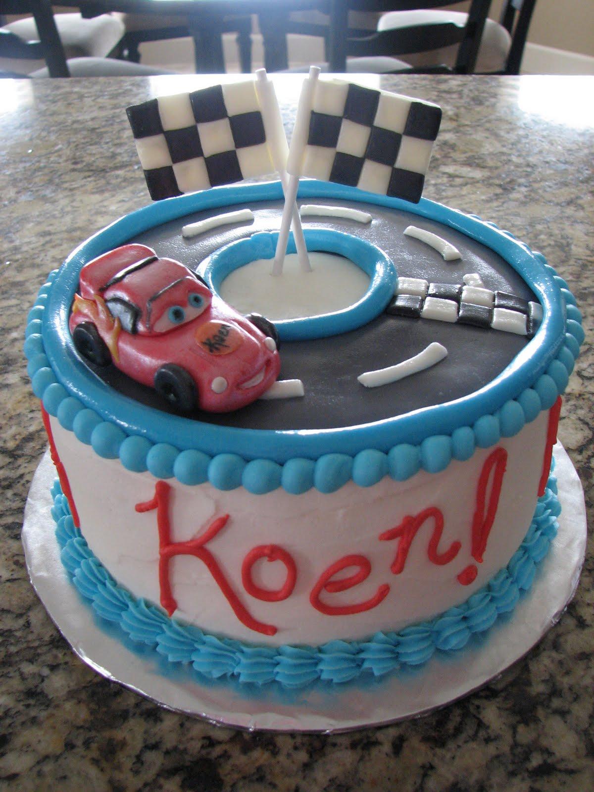 Lightning Mcqueen Birthday Cake Designs : Decadent Designs: Lightning McQueen Birthday Cake 8