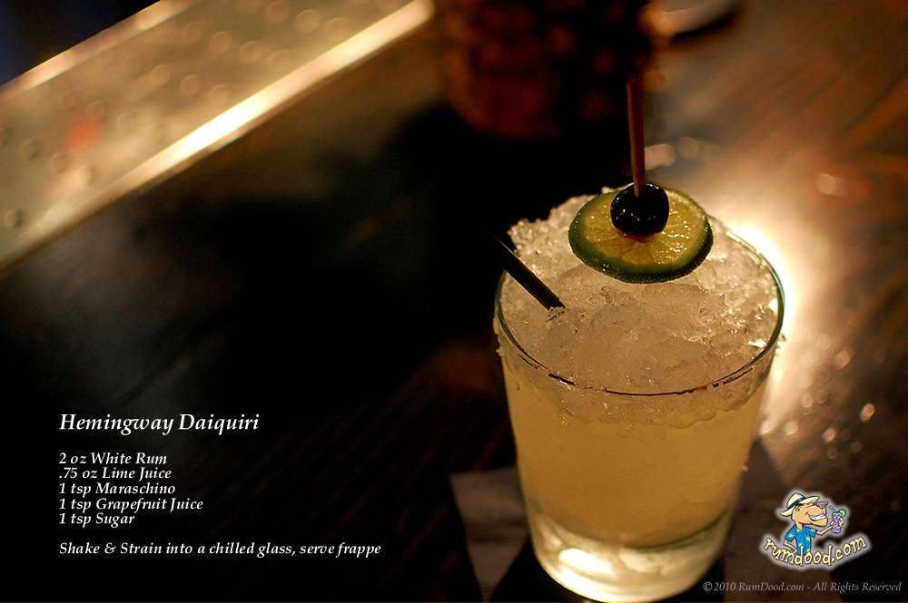 DEFOLOGY: Drink Of The Month: Hemingway Daiquiri