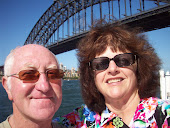 In front of the Sydney Harbor Bridge